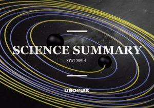 Detección de ondas gravitacionales procedentes de la fusión de un sistema binario de agujeros negros