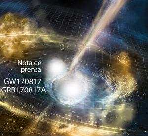 LIGO y Virgo detectan por primera vez ondas gravitacionales procedentes de una colisión de estrellas de neutrones