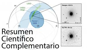 El amanecer de la astrofísica de multi-mensajeros: observación de la fusión de un sistema binario de estrellas de neutrones