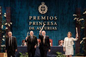 Entrega premio Princesa de Asturias